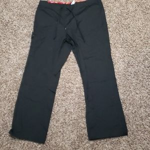 Dickies Black Scrub Pants Large